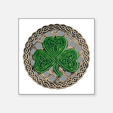 Shamrock And Celtic Knots Sticker