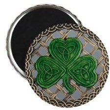 Shamrock And Celtic Knots Magnet