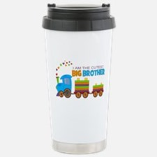 I am the Cutest Big Brother - Train Travel Mug