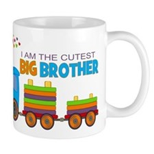 I am the Cutest Big Brother - Train Mug