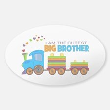 I am the Cutest Big Brother - Train Decal