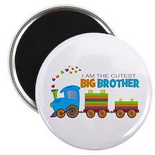 I am the Cutest Big Brother - Train Magnet