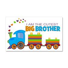 I am the Cutest Big Brother - Train Car Magnet 20