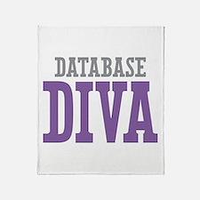 Database DIVA Throw Blanket