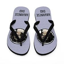 Havanese Dad Flip Flops