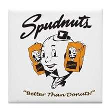 Cute Spudnutsshow Tile Coaster