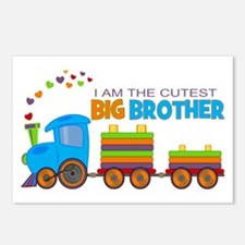 I am the Cutest Big Brother - Train Postcards (Pac
