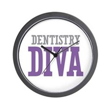Dentistry DIVA Wall Clock