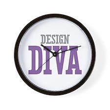 Design DIVA Wall Clock
