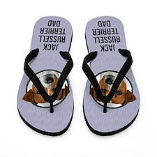 Jack Russell Terrier Dad Flip Flops