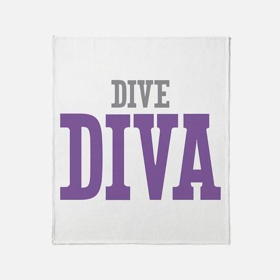 Dive DIVA Throw Blanket
