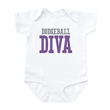 Dodgeball DIVA Infant Bodysuit