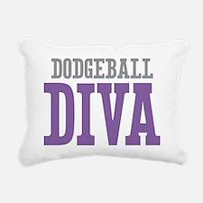 Dodgeball DIVA Rectangular Canvas Pillow