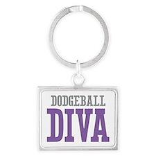 Dodgeball DIVA Landscape Keychain