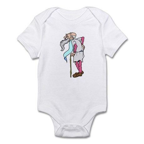 Father Time New Year Infant Bodysuit