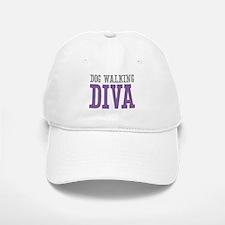 Dog Walking DIVA Baseball Baseball Cap