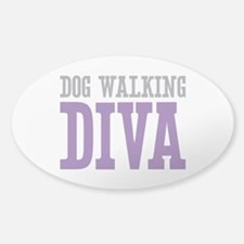 Dog Walking DIVA Decal
