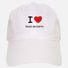I love peace on earth Baseball Baseball Cap