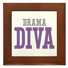 Drama DIVA Framed Tile