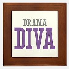 Drama DIVA Framed Tile