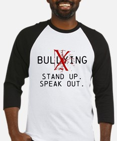 No Bullying - Stand up. Speak out. Baseball Jersey