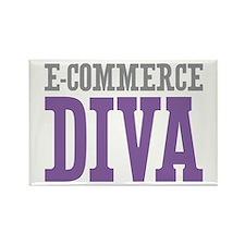 E-commerce DIVA Rectangle Magnet