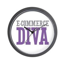 E-commerce DIVA Wall Clock
