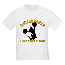 Funny Cheerleader Kids T-Shirt