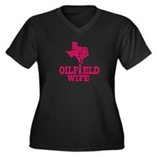 Dont Mess With Texas Oilfield Wife Pink Plus Size
