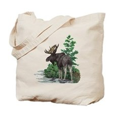 Bull moose art Tote Bag