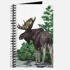Bull moose art Journal