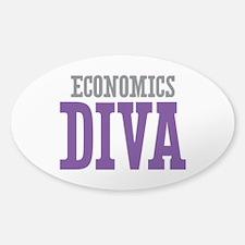 Economics DIVA Sticker (Oval)