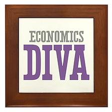 Economics DIVA Framed Tile