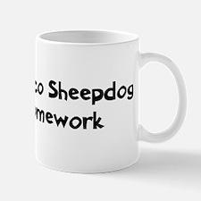 Bergamasco Sheepdog ate my ho Mug