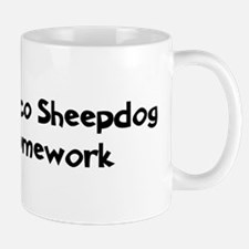 Bergamasco Sheepdog ate my ho Small Small Mug
