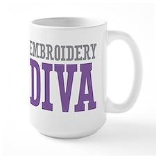 Embroidery DIVA Mug