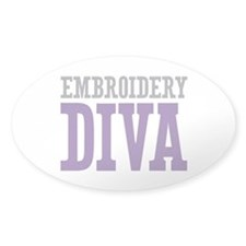 Embroidery DIVA Decal