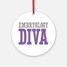 Embryology DIVA Ornament (Round)