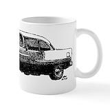 55 chevy cup Coffee Mugs