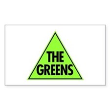 Green Party 2013 Decal