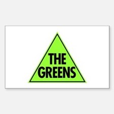Green Party Logo Stickers