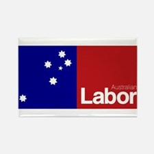 Labor Party Logo Rectangle Magnet