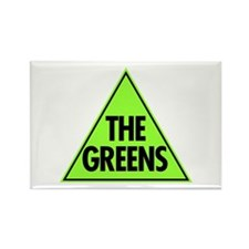 Green Party Logo Rectangle Magnet