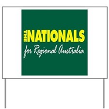National Party 2013 Yard Sign