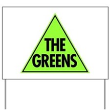 Green Party 2013 Yard Sign