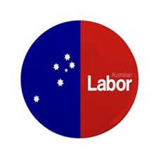 "Labor Party 2013 3.5"" Button"