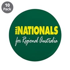 "National Party 2013 3.5"" Button (10 pack)"