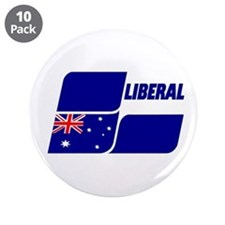 "Liberal Party 2013 3.5"" Button (10 Pack)"
