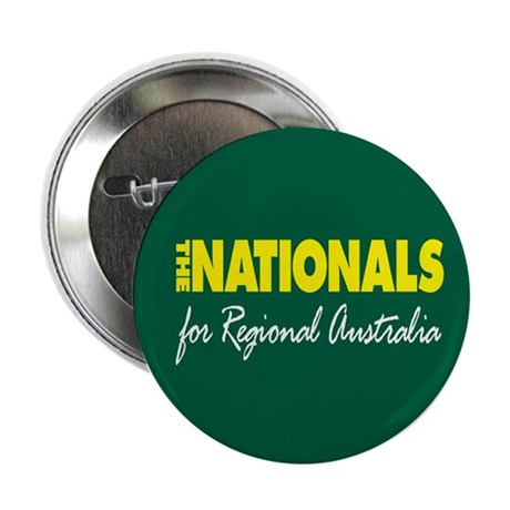 """National Party 2013 2.25"""" Button"""