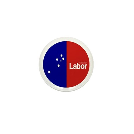Labor Party Logo Mini Button (10 pack)
